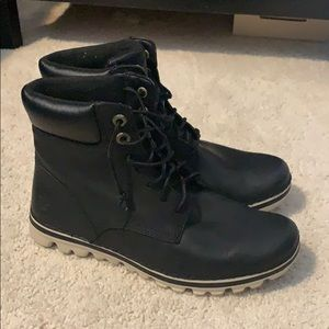Timberland lace up brookton boots